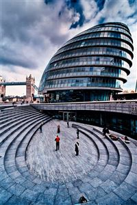 London City Hall iPhone 4s wallpaper