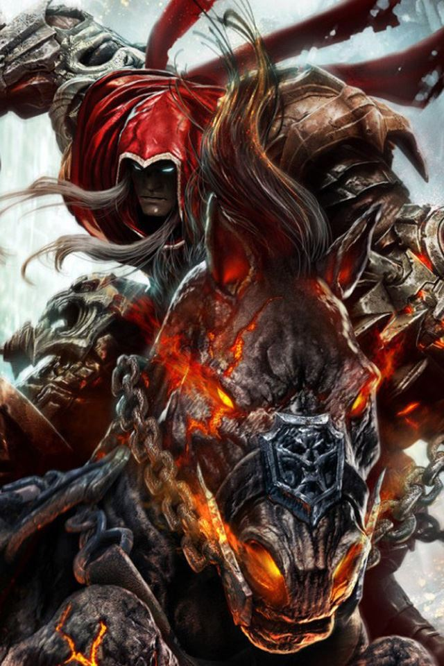 Darksiders iPhone 4s wallpaper