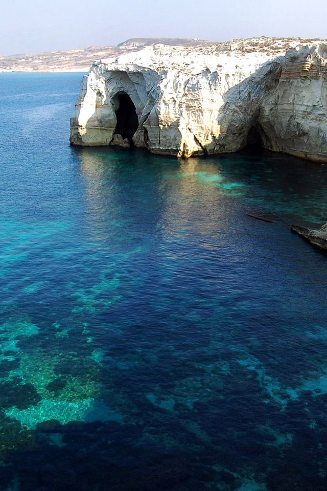 Greece Island Iphone 4s Wallpapers Free Download