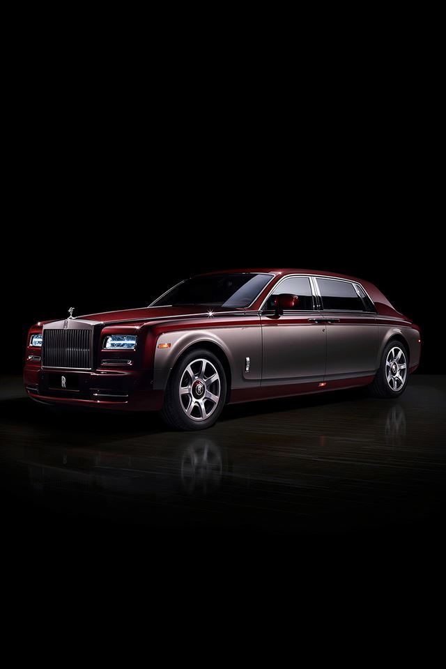 Rolls Royce Pinnacle Phantom Dark Car  iPhone 4s wallpaper