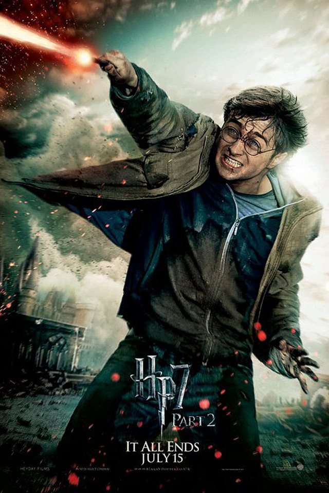 Harry Potter The Deathly Hallows 2 iPhone 4s wallpaper