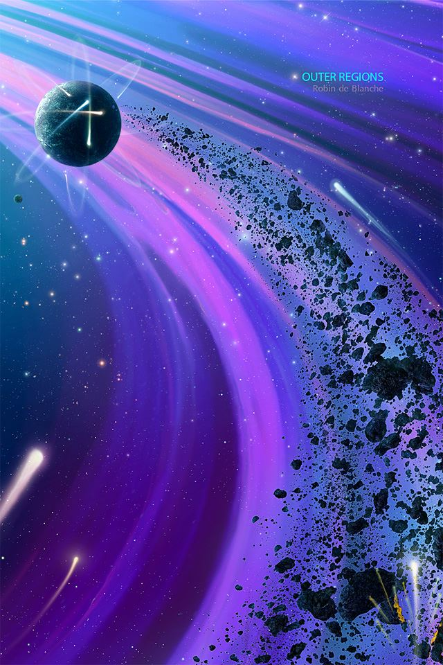Outer Regions iPhone 4s wallpaper