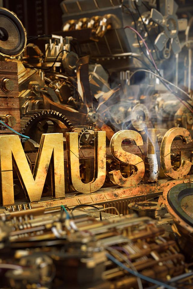 Music Machine iPhone 4s wallpaper