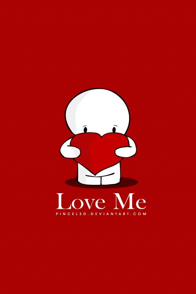 Love Me iPhone 4s wallpaper