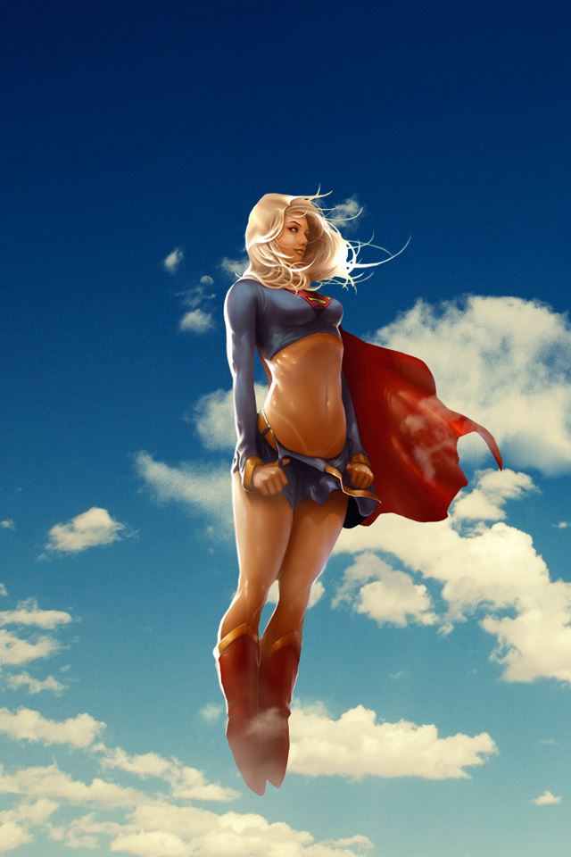 Superwoman iPhone 4s wallpaper
