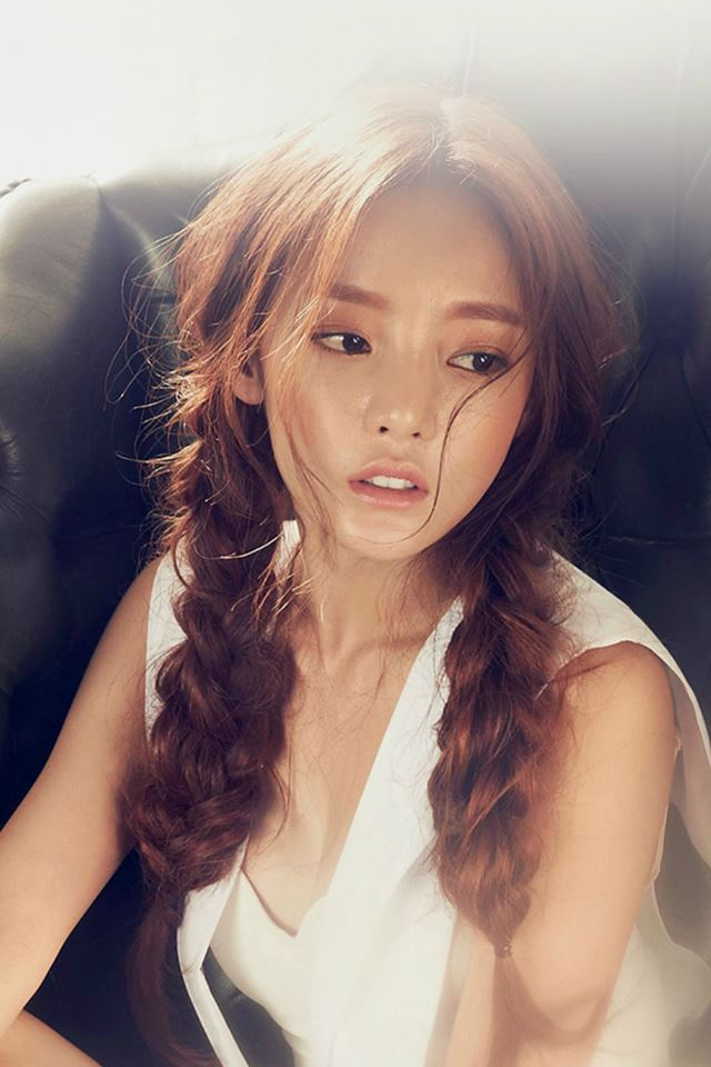 Gu Hara Mini Music Album Sexy Kpop iPhone 4s wallpaper