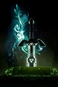 Master Sword iPhone 4s wallpaper