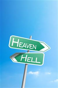 Heaven or Hell iPhone 4s wallpaper