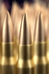 Sharp Golden Bullet Military Weapon iPhone 4s wallpaper