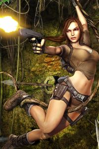 Tomb Raider iPhone 4s wallpaper