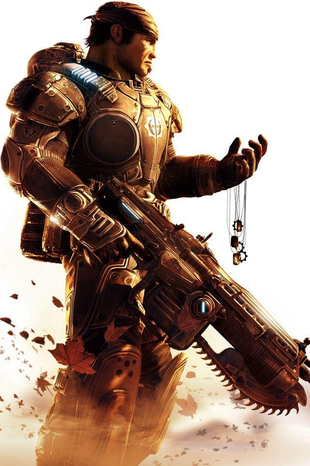 Gears of War iPhone 4s wallpaper