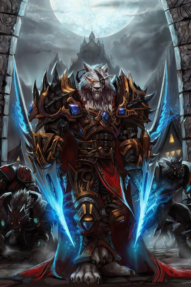 World of Warcraft iPhone 4s wallpaper