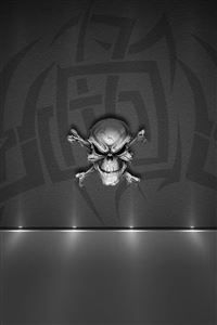 Evil Skull iPhone 4s wallpaper