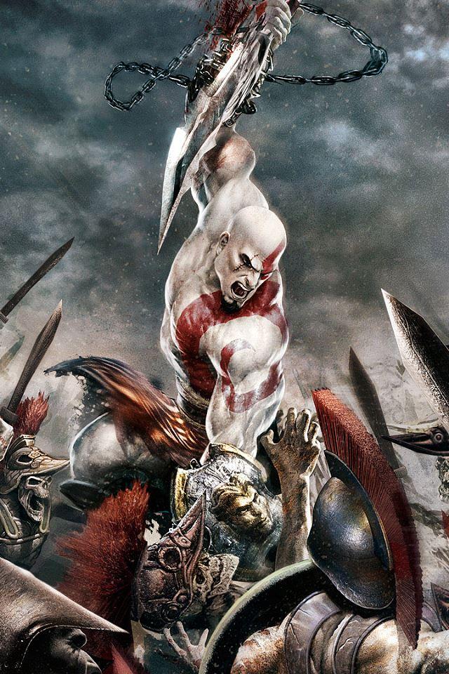 God of War iPhone 4s wallpaper