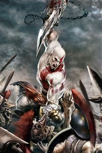 God of War iPhone 4s wallpaper