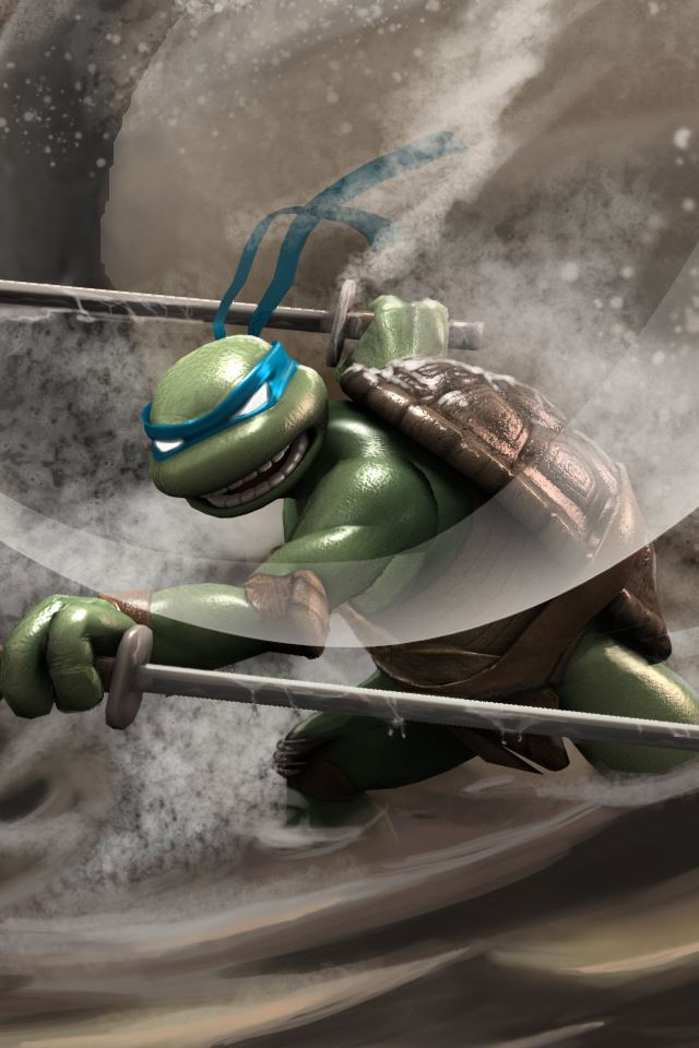 Ninja Turtles iPhone 4s wallpaper