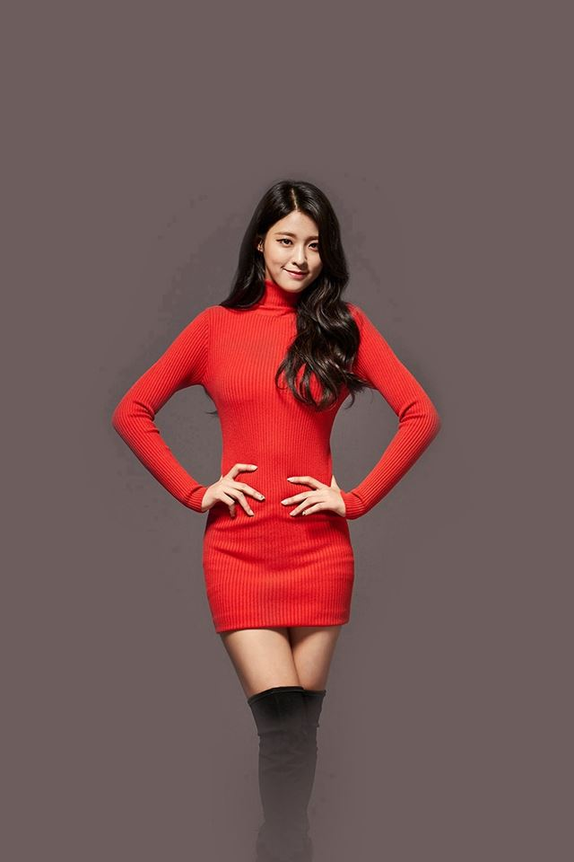 Seolhyun Aoa Red Christmas Cute Music iPhone 4s wallpaper