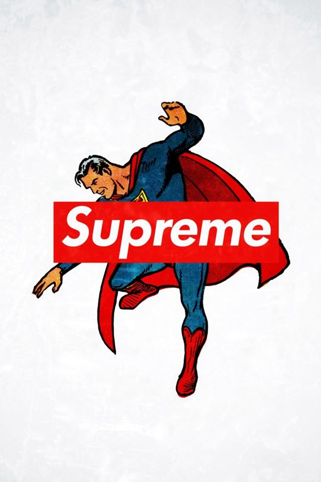 Supreme Trend Logo Film Art  iPhone 4s wallpaper