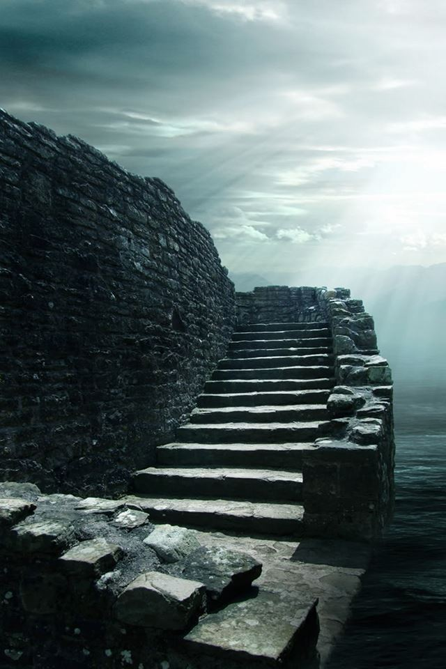 Stone Stairway Iphone 4s Wallpapers Free Download