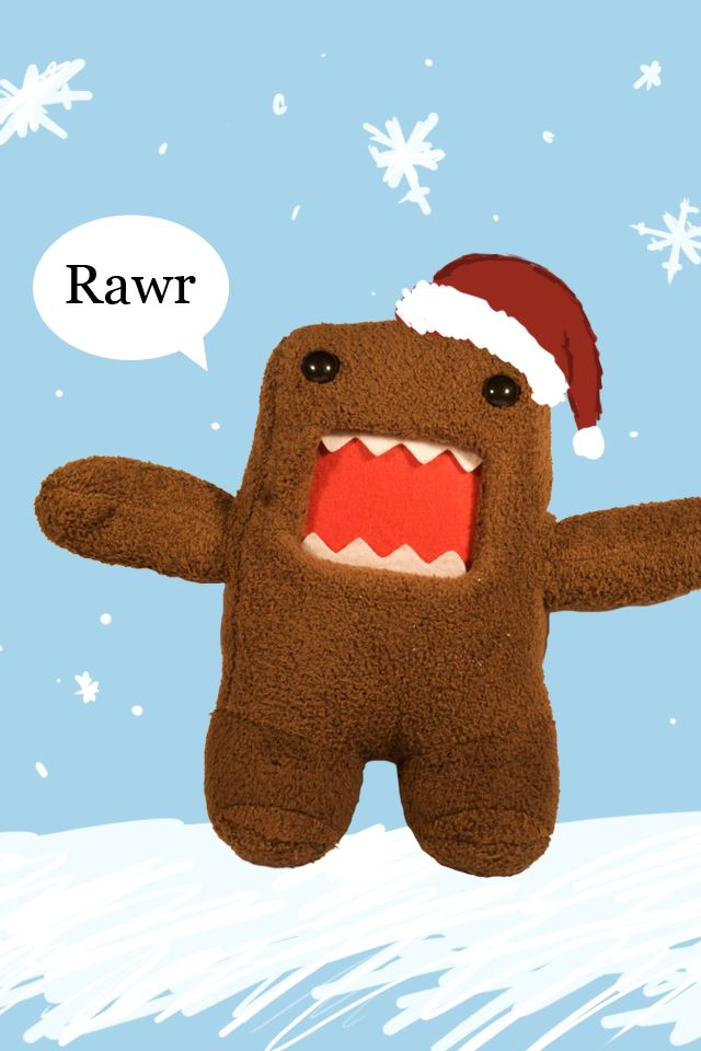 Domo Kun iPhone 4s wallpaper