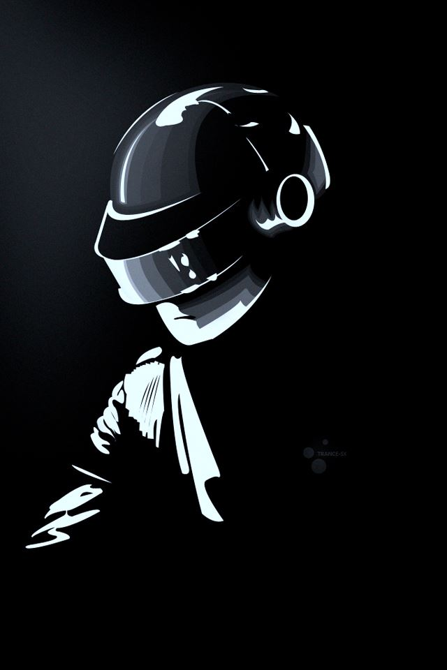 Daft Punk iPhone 4s Wallpapers Free Download