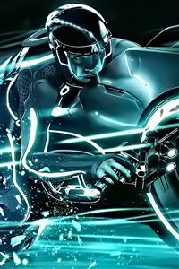 Tron Legacy iPhone 4s wallpaper