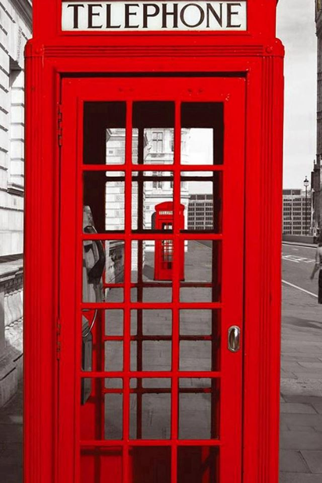 England Street Telephone Station Iphone 4s Wallpapers Free