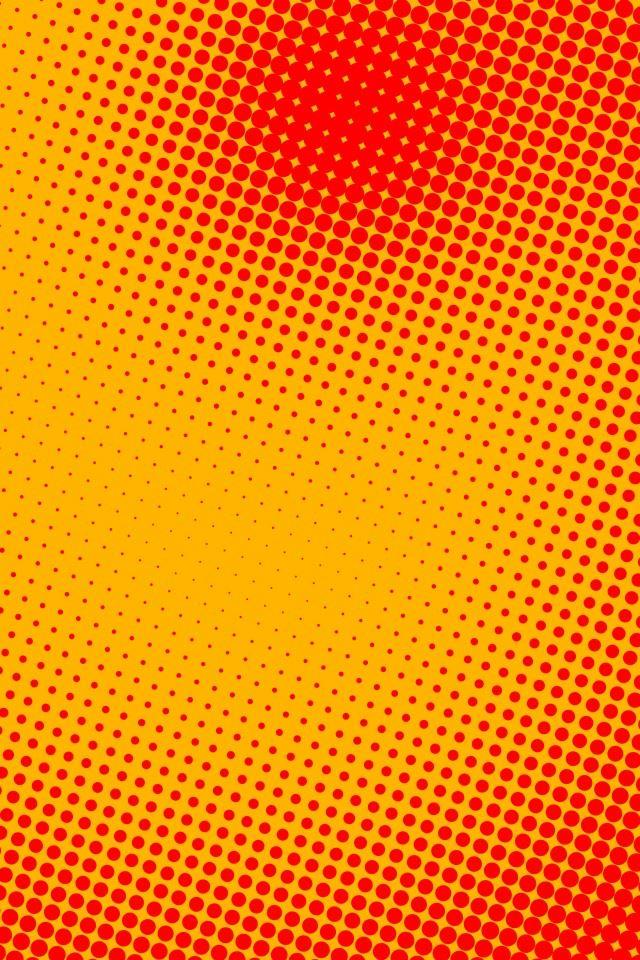 Sunburst Pop Dots Iphone 4s Wallpapers Free Download