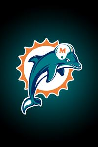 Miami Dolphins iPhone 4s wallpaper