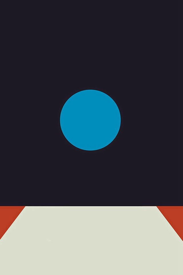 Tycho Art Blue Illustration Art Abstract Minimal iPhone 4s wallpaper