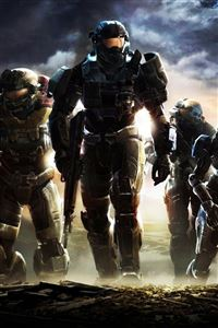 Halo Reach iPhone 4s wallpaper
