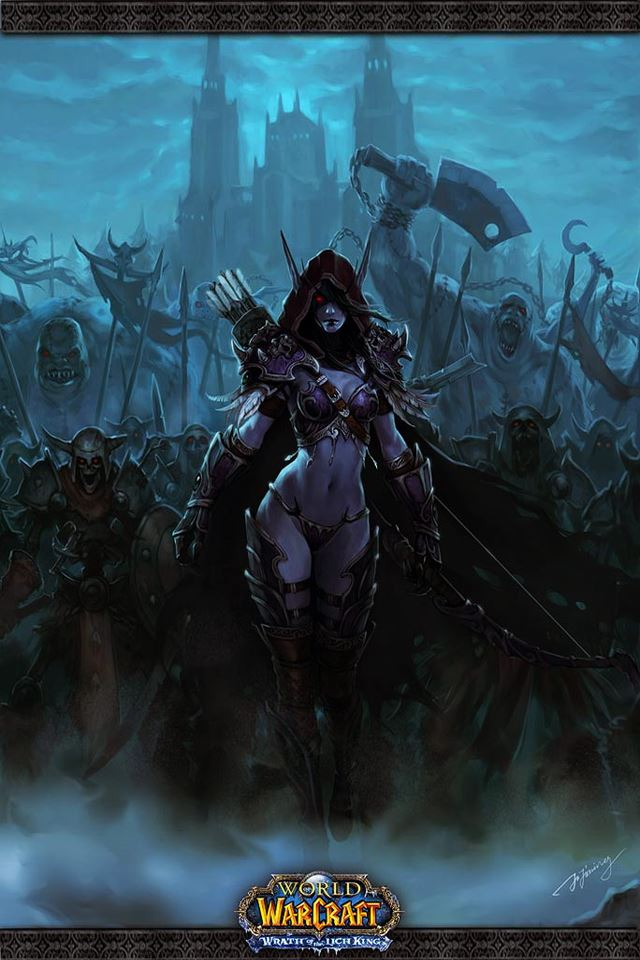 Marvelous World Of Warcraft IPhone 4s Wallpaper