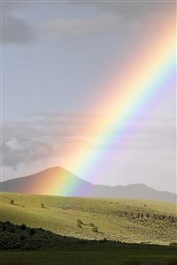 Perfect Rainbow iPhone 4s wallpaper