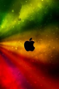 Colorful Apple iPhone 4s wallpaper