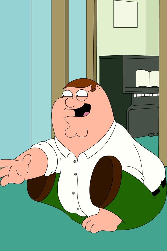 Peter Griffin iPhone 4s wallpaper