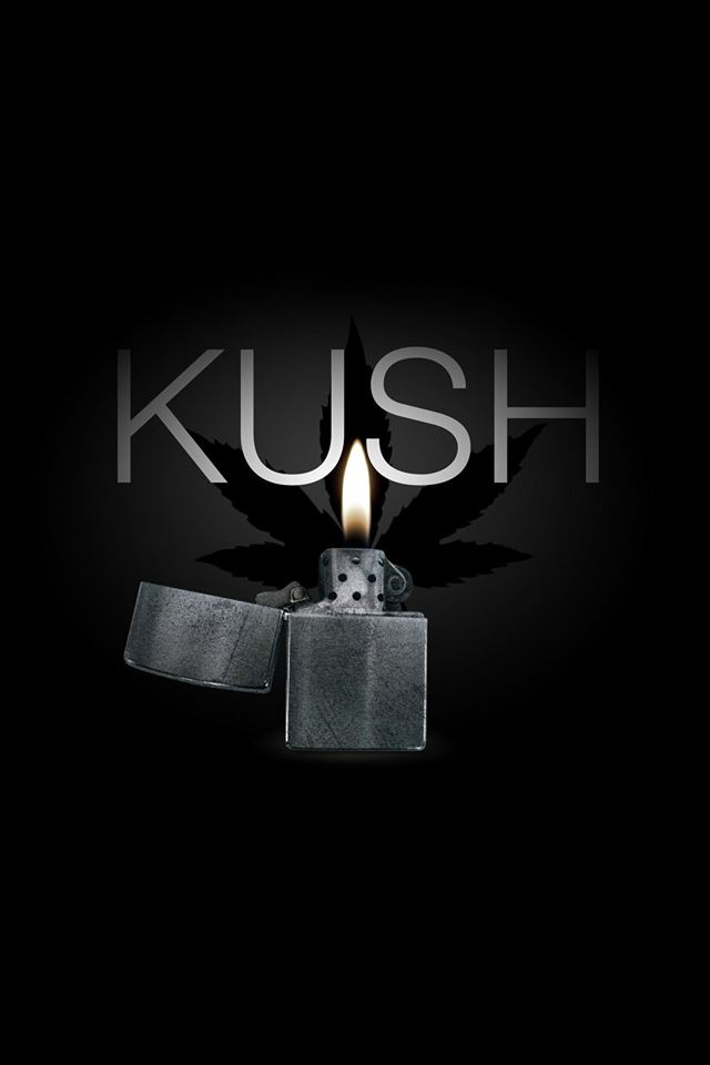 Kush Logo iPhone 4s wallpaper