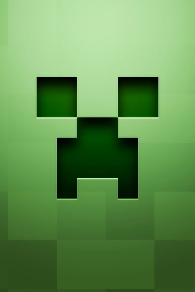 Minecraft iPhone 4s wallpaper