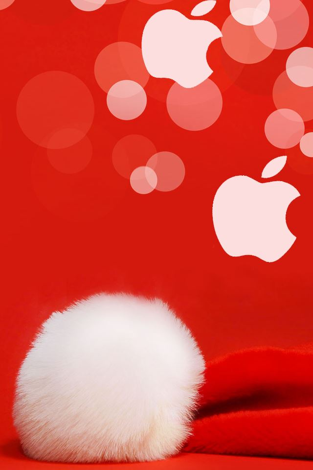 Christmas Apple iPhone 4s wallpaper