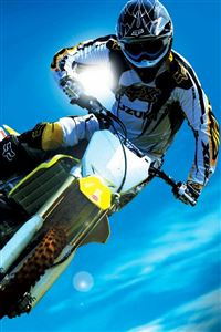 Motocross Race iPhone 4s wallpaper