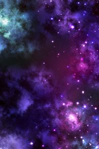 Space Gasses iPhone 4s wallpaper