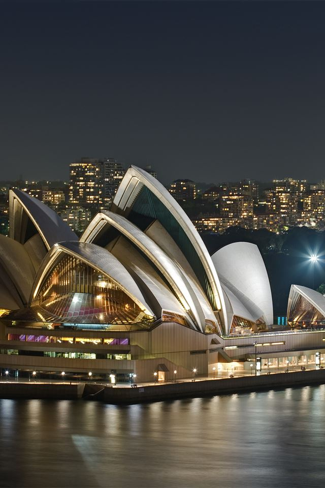 Sydney Opera House iPhone 4s wallpaper