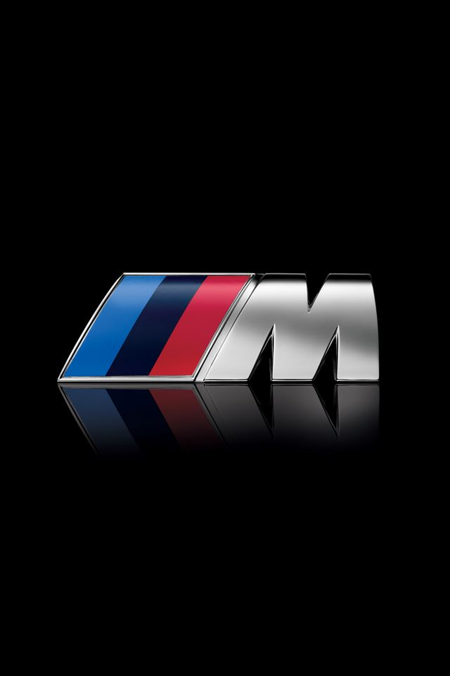 BMW M Logo iPhone 4s wallpaper