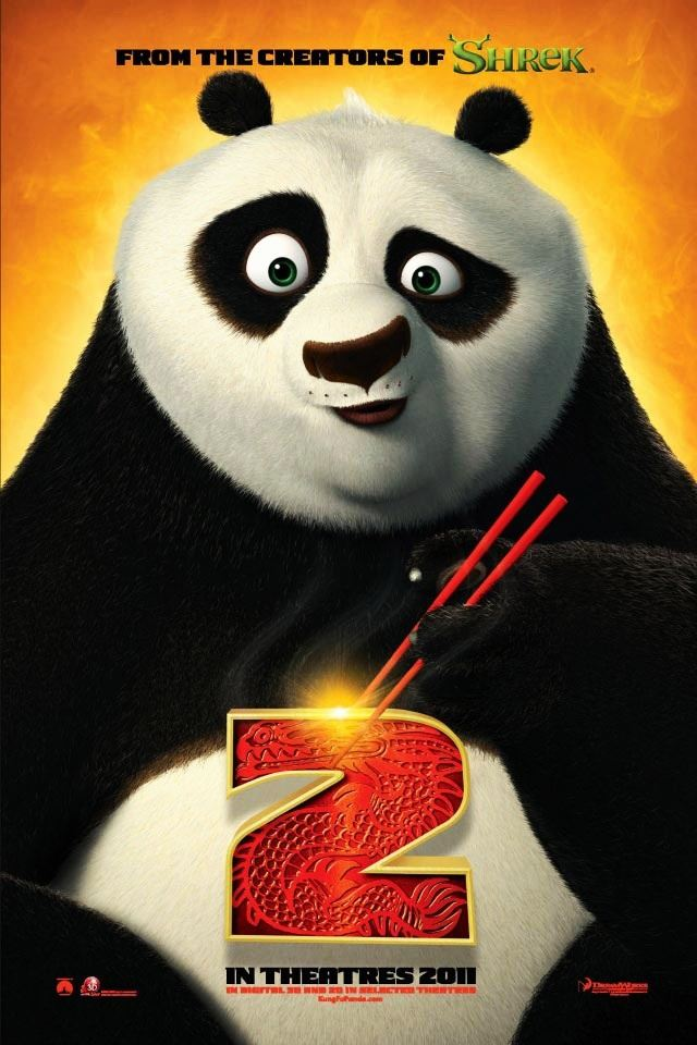 Kung Fu Panda 2 iPhone 4s wallpaper