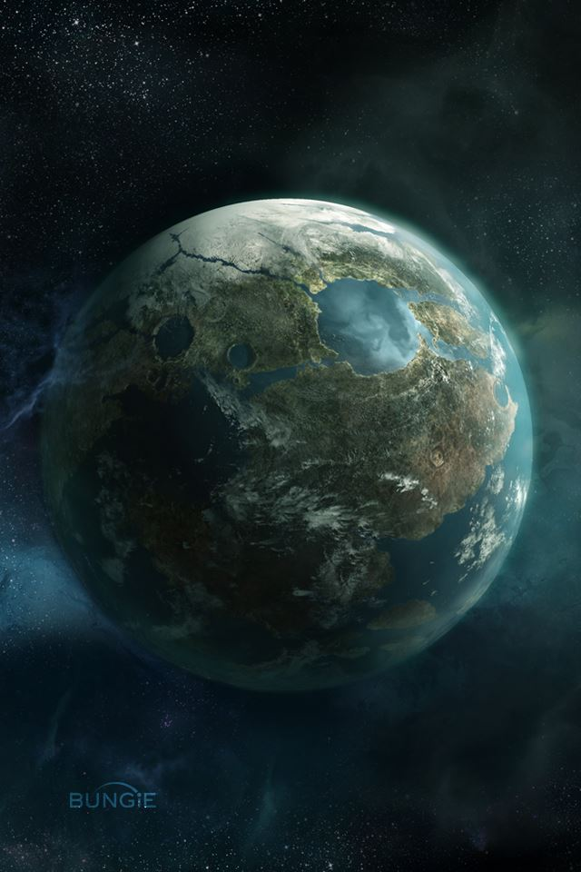 Planet Earth iPhone 4s wallpaper