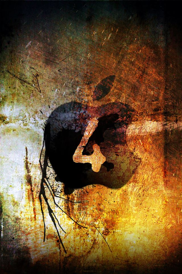 Apple Logo Four iPhone 4s Wallpapers Free Download