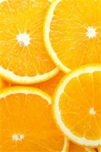 Orange Slices iPhone 4s wallpaper