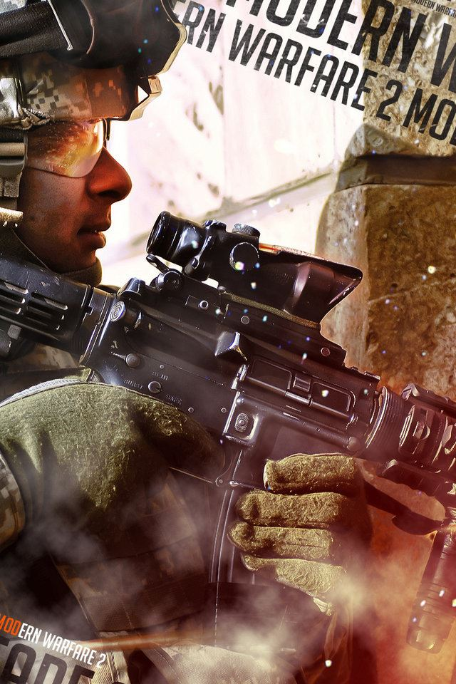 Call Of Duty IPhone 4s Wallpaper