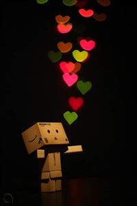 Danbo iPhone 4s wallpaper