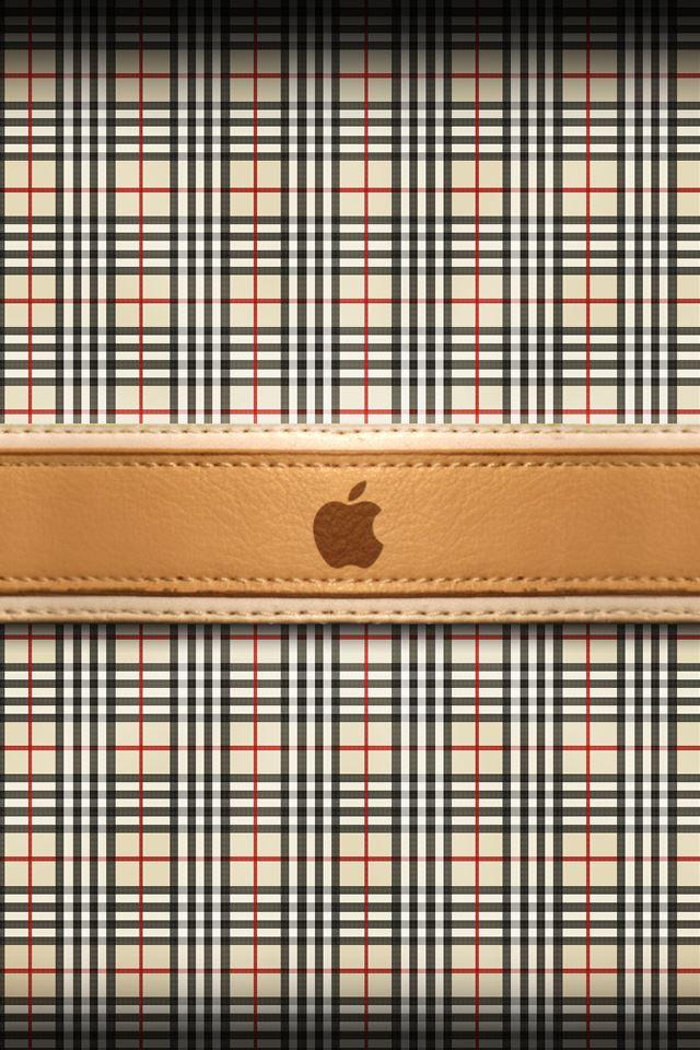 burberry apple logo iphone 4s
