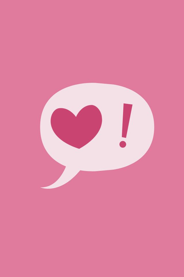 Love Pink Iphone 4s Wallpapers Free Download